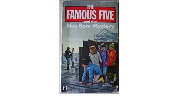 novel the famous five and the blue bear mystery