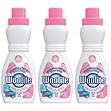 Woolite Delicates Hypoallergenic Liquid Laundry Detergent, 16 fl oz Bottle, Hand & Machine Wash (Pack of 3)
