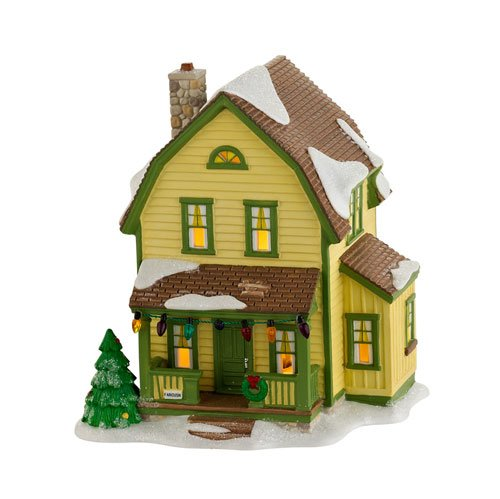 Department 56 A Christmas Story ''Farcus House'' Lighted Building #4029247 by Department 56