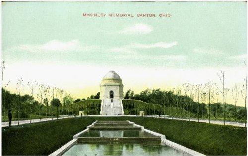 Photo Reprint McKinley Memorial, Canton, - Ohio Memorial Mckinley Canton
