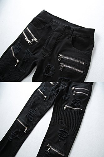 Black Skinny Mens Jeans