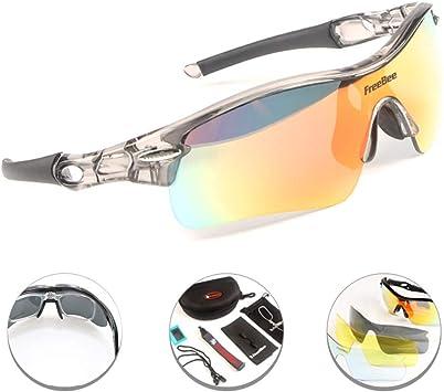 Polarised Sunglasses Over Glasses Wrap Around Sports Cycling SunglassesMs Acvt