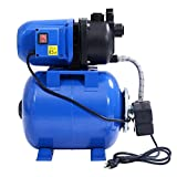 1200W Garden Water Pump Shallow Well Pressurized Home Irrigation 1000GPH TKT-11