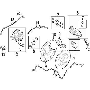 Amazon Com Ford Cv6z 2c190 C Abs Wheel Speed Sensor Automotive