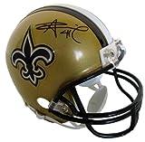 Alvin Kamara Signed Autographed New Orleans Saints Mini Helmet COA & Hologram
