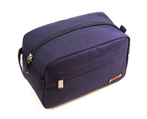 - RevoSnap Time Traveler, Toiletry Bag for Men, Travel Shaving Kit, Dopp Kit, Mens Toiletry Bag, Four Compartments