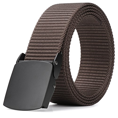 Heavy Duty Tactical Web Belt for Men, MoAnBee 1.5in Nylon Belt for Concealed Carry EDC Holsters Military Belt