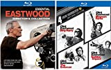 Dirty Harry Collection Clint Eastwood Blu Ray + Essential Eastwood: Director's Collection (Letters from Iwo Jima / Million Dollar Baby / Mystic River / Unforgiven)