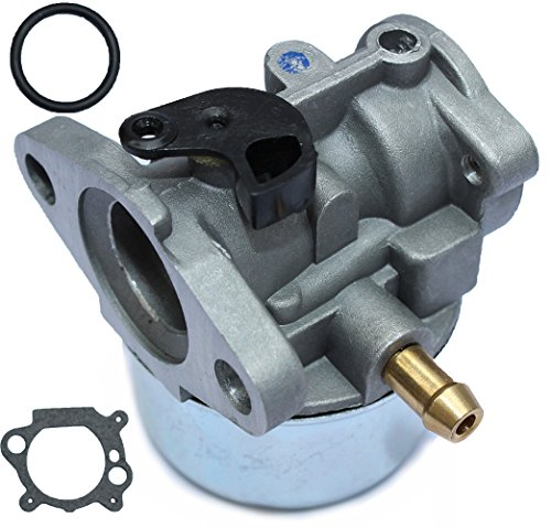 LotFancy 799868 Carburetor for Briggs and Stratton 498170 497586 497314 698444 498254 497347 Models with Gasket and O-Ring, 4-7 hp Engines with No Choke, 50-657