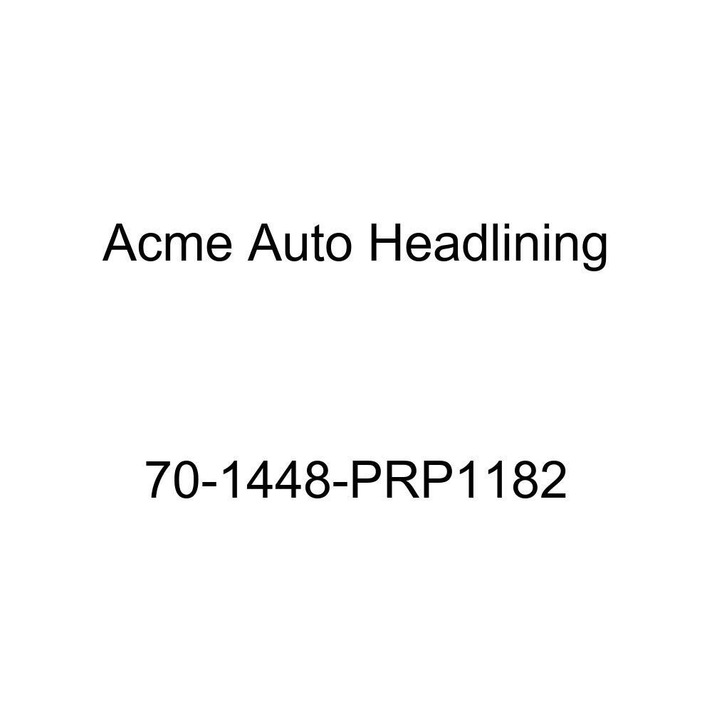 Acme Auto Headlining 70-1448-PRP1182 Blue Replacement Headliner 1970 Chevrolet Chevelle Nomad and Greenbrier Wagon 8 Bow