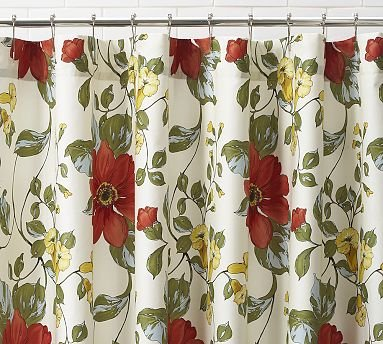 Image Unavailable Not Available For Color Pottery Barn Sophia Organic Shower Curtain