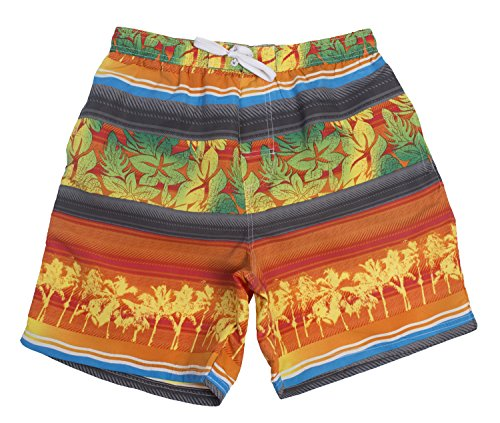 [Tropi Sun Mens Multi Color Floral Boardshorts With Mesh Lining (Small,Red)] (Xxl Santa Suits For Sale)