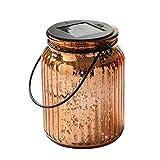 SUNWIND Solar Mercury Glass Jar Lights - 2 Pack