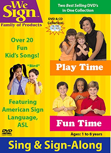Signs Fun Cd - Fun Time and Play Time DVD / CD Set