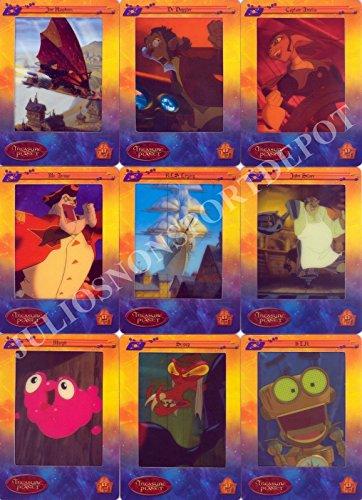 TREASURE PLANET 2002 ARTBOX DISNEY COMPLETE BASE CARD SET OF 72