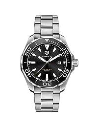 TAG Heuer Men's 43mm Steel Bracelet Case Quartz Analog Watch WAY101A.BA0746