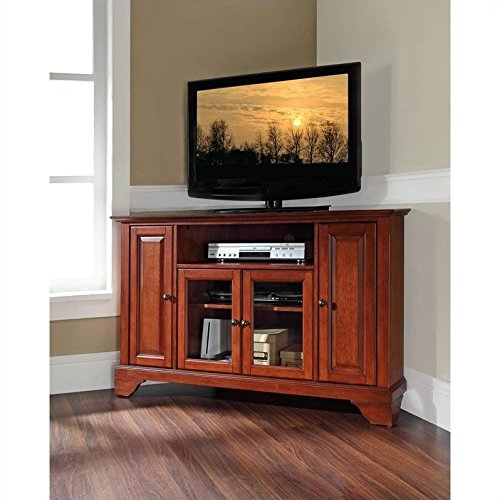 Classic Tv Cherry Stand - Pemberly Row 48