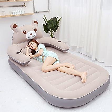 Cama neumática inflable del colchón de NVZJNDS Tatami Sofá inflable perezoso del sofá Sola cama doble