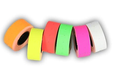 Rotoli Di Carta Colorata : Etichette di carta colorata adesive rotoli misti mm
