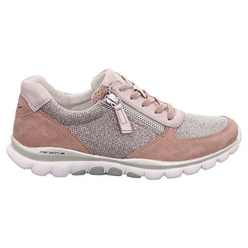 Lacets 86 Femme 20 Ville Pour À Chaussures 968 Metall De Gabor R01TpqqS