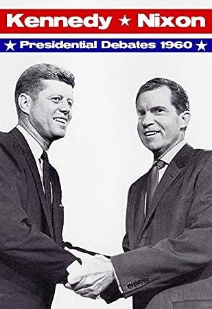 Amazon John F Kennedy Vs Richard Nixon Poster 1960