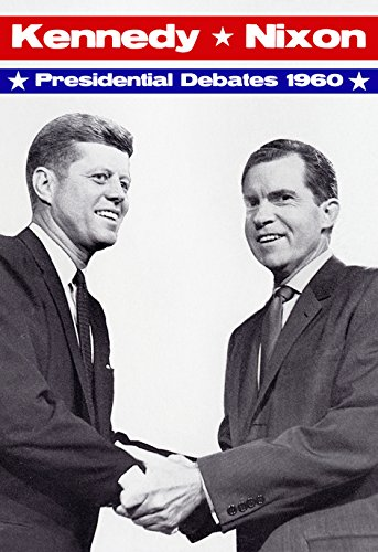 John F. Kennedy vs Richard Nixon Poster, 1960 Presidential Debate, Kennedy vs Nixon