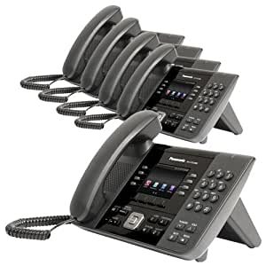 Panasonic KX-UTG200B SIP Business Corded Phone (5 Pack)