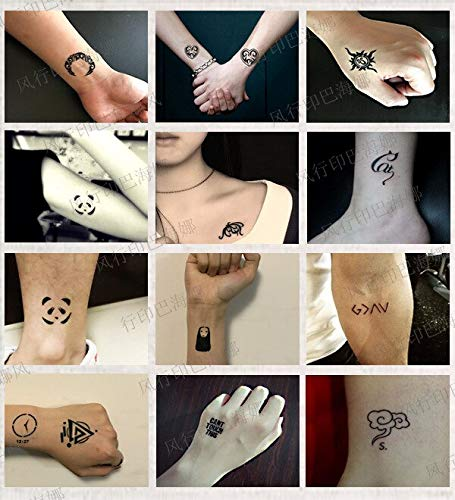 Henna Stencils 50pcs/Set Glitter Tattoo Stencil for Men Woman Kids Cute Drawing Templates Airbrush Henna Tattoo Stencils for Painting