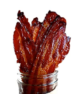 Brown Sugar Bacon Jerky Candied Bacon from CJ's Ultimate Foods LLC