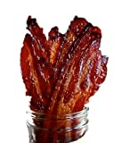 If you are a Bacon Lover, you've got to try our Brown Sugar Candied Bacon Jerky. What is Candied Bacon, you ask? Candied bacon is the perfect marriage of salty and sweet. It taste wonderful with eggs and makes a great buffet brunch side dish....