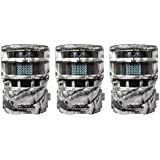 Moultrie Game Spy P150 Low Glow 8MP Panoramic Infrared Digital Trail Game Camera (3 Pack)