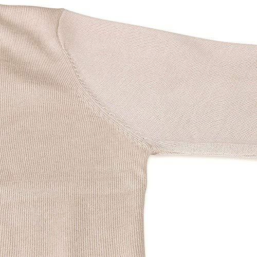 Unique Giacca Giubbino Primaverile Beige Monocromo Outwear Casual Fine Lunghe Donna Comodo Cappotto Maglia Autunno Elegante Maniche Asimmetrico Moda Stlie A Forcella Aperto BIUwrxOqI