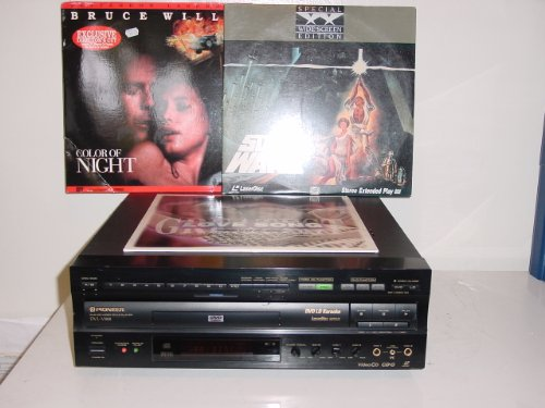 Pioneer DVL-V888 Karaoke DVD Laserdisc LD/CD Player