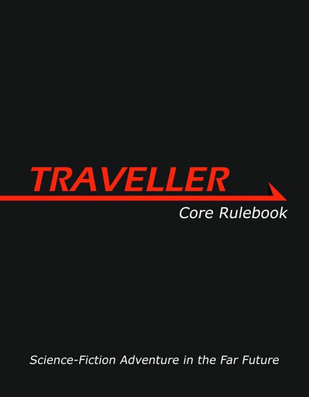Traveller Core Rulebook Gareth Hanrahan product image