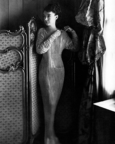 Lillian Gish 1920 Fortuny Delphos Gown 8x10 Silver Halide Archival Quality Reproduction Photo Print