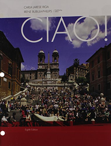 Bundle: Ciao!, 8th + iLrn™ Heinle Learning Center Printed Access Card
