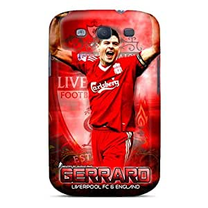 Protection Case For Galaxy S3 / Case Cover For Galaxy(the Football Player Of Liverpool Steven Gerrard)