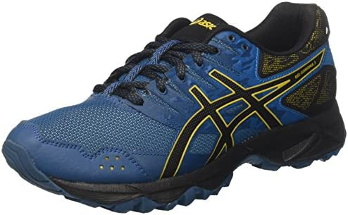 Asics Gel-Sonoma 3, Zapatillas de Running para Asfalto para Hombre, Multicolor (Ink Blue/Black/Lemon Curry 4590), 41.5 EU: Amazon.es: Zapatos y complementos
