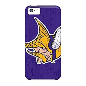 MMZ DIY PHONE CASEipod touch 5 XjD6131MNCr Allow Personal Design Realistic Minnesota Vikings Series Great Hard Phone Covers -JacquieWasylnuk