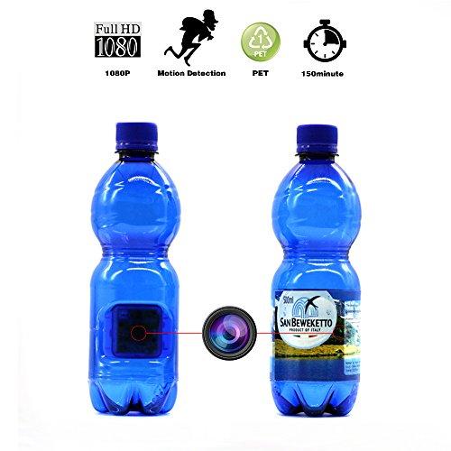 water bottle spy camera