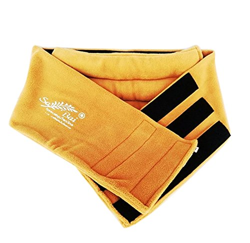 Sansukjai Herbal Waist Heat Wrap Microwavable Heating Pad Therapy Herb Bag Relieve Muscle by Sansukjai