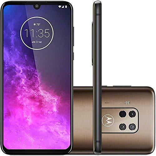 Smartphone Motorola One Zoom Bronze, Motorola, Modelo XT2010-1, 128 GB, 6. 4'', Bronze