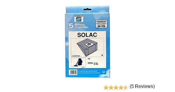 Tecnhogar - Caja 5 Bol. Asp.Solac 918: Amazon.es: Bricolaje y herramientas