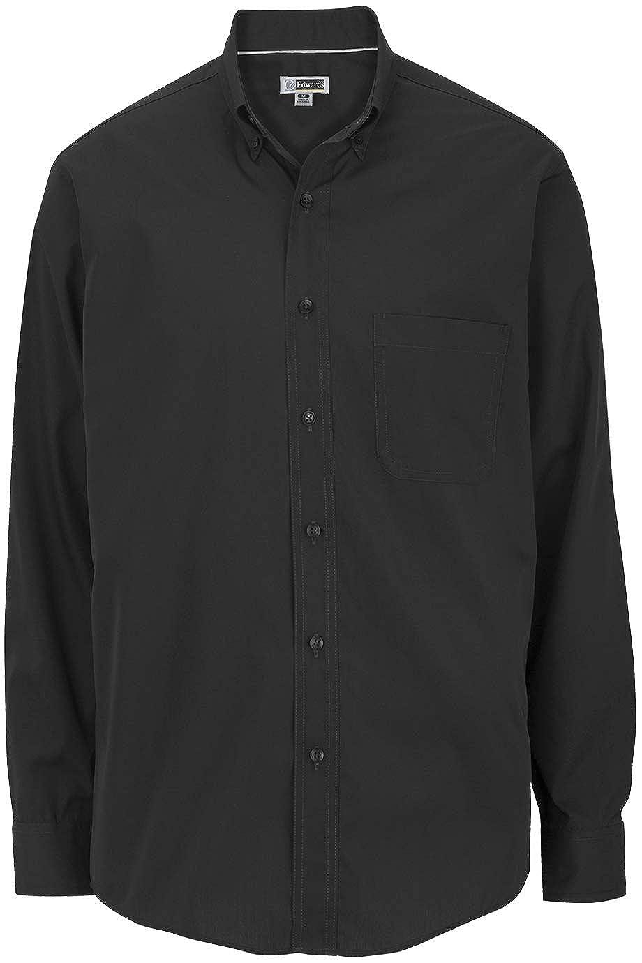 Edwards Mens COTTONPLUS Long Sleeve Twill Shirt