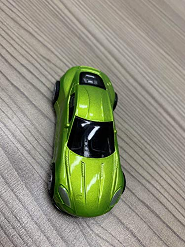 3 Pull Castings - KKONES Simulation Alloy Super Sports car Child Model Pull Back die-Casting Toy car Suitable for All Girls and Boys Over 1, 2, and 3 Years Old