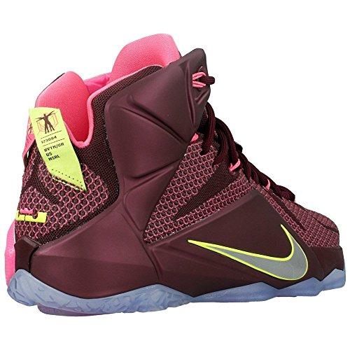Nike - Lebron Xii - Color: Bordeaux-Rosa - Size: 47.0