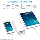 Anker 2nd Gen Astro E4 13000mAh 3A High Capacity Fast Portable Charger External Battery Power Bank with PowerIQ Technology - White