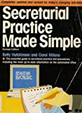 Secretarial Practice Made Simple, Betty Hutchinson and Carol Milano, 0385414285