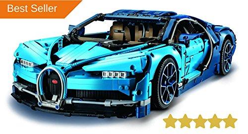 AMZDONET 2018 Bugatti Chiron Building Kit, Bugatti Chiron Technic Toy, Scale (Dna Accelerator)