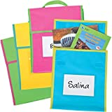 Medium Book Pouches - Neon Multicolor -36